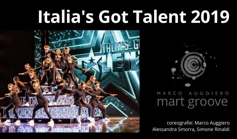 Italias got talent groove